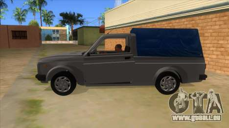 Zastava Poly 1.3 pour GTA San Andreas laissé vue