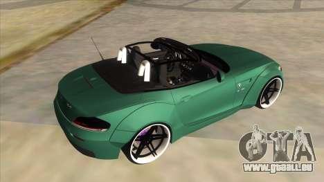 BMW Z4 Liberty Walk Performance für GTA San Andreas Seitenansicht