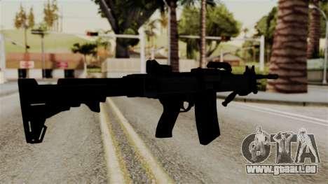 IMI Negev NG-7 pour GTA San Andreas deuxième écran
