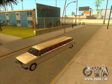 VAZ 2104 13-door pour GTA San Andreas vue intérieure