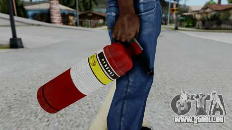 No More Room in Hell - Fire Extingusher pour GTA San Andreas troisième écran