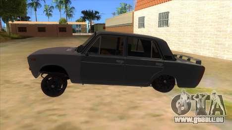 VAZ 2106 Drift Edition pour GTA San Andreas laissé vue