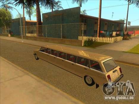 VAZ 2104 13-door pour GTA San Andreas sur la vue arrière gauche