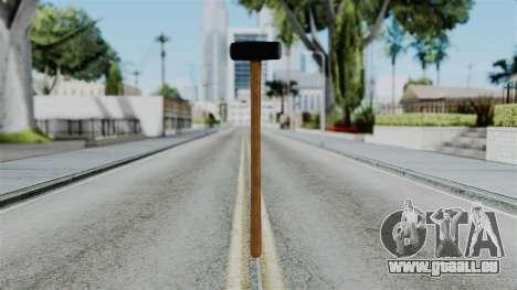No More Room in Hell - Sledgehammer für GTA San Andreas zweiten Screenshot