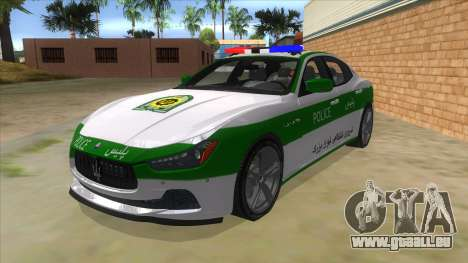 Maserati Iranian Police für GTA San Andreas