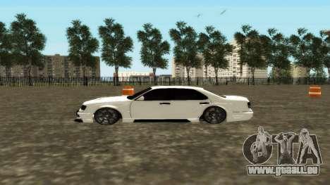 Nissan Cedric WideBody für GTA San Andreas linke Ansicht