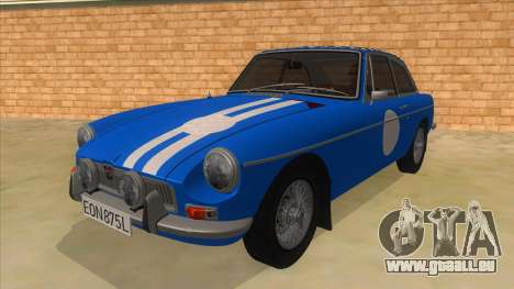 Richard Hammond MGB GT Top Gear pour GTA San Andreas