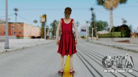 Hermione Dress für GTA San Andreas dritten Screenshot