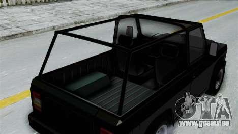 Aro 240 1996 pour GTA San Andreas vue arrière