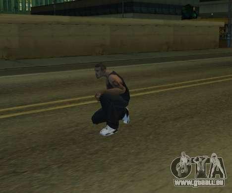 Black Cesar pour GTA San Andreas troisième écran
