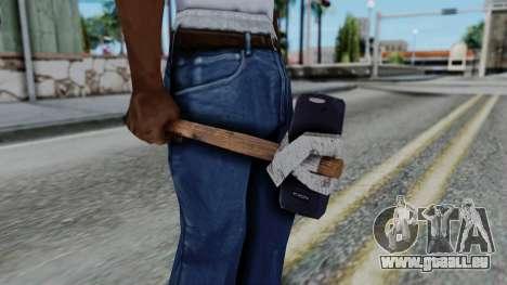 Nokia 3310 Hammer für GTA San Andreas dritten Screenshot