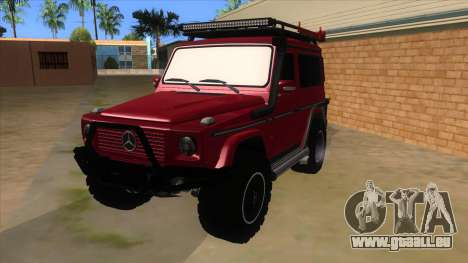 Mercedes-Benz G500 Off Road V3.0 pour GTA San Andreas