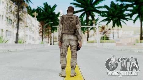 Crysis 2 US Soldier 2 Bodygroup A pour GTA San Andreas troisième écran
