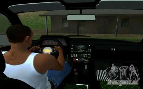 VAZ 2121 Niva Förster für GTA San Andreas zurück linke Ansicht