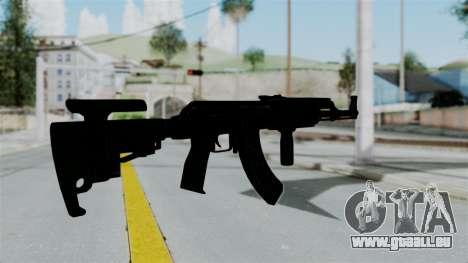 AK-47 Tactical für GTA San Andreas dritten Screenshot