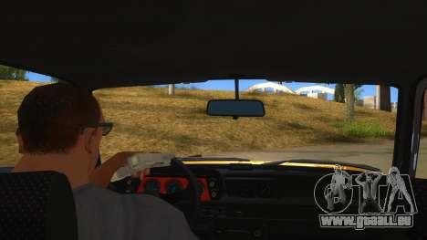 1974 BMW 2002 turbo v1.1 pour GTA San Andreas vue intérieure