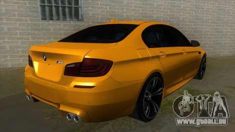 BMW M5 F10 für GTA San Andreas rechten Ansicht