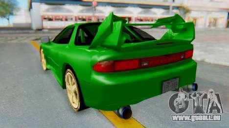 Mitsubishi GT3000 FnF für GTA San Andreas linke Ansicht