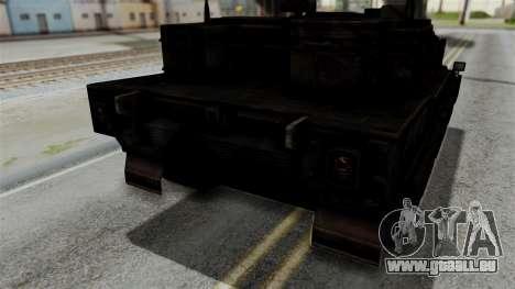 Point Blank Black Panther Rusty IVF für GTA San Andreas Innenansicht