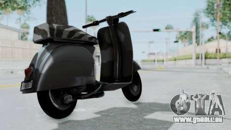 GTA 5 Principe Faggio für GTA San Andreas linke Ansicht