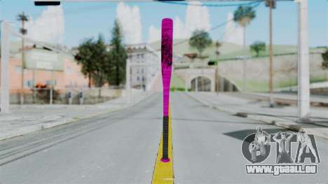 GTA 5 Baseball Bat 4 pour GTA San Andreas