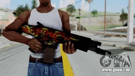 SCAR-L Extra PJ für GTA San Andreas dritten Screenshot