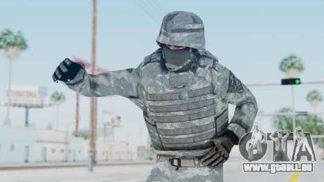 Acu Soldier Balaclava v1 pour GTA San Andreas