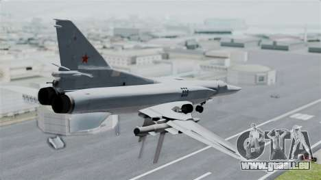 TU-22M3 pour GTA San Andreas laissé vue