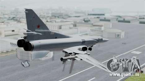 TU-22M3 für GTA San Andreas linke Ansicht