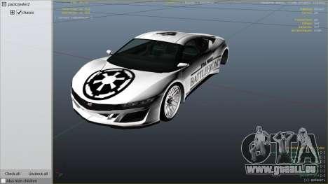 GTA 5 Star Wars Battlefront Jester Race Theme rechte Seitenansicht