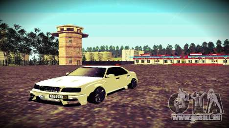 Nissan Cedric WideBody pour GTA San Andreas