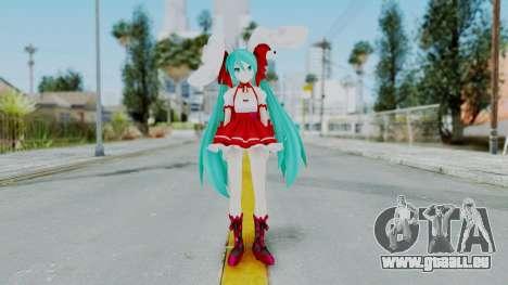 Hatsune Miku (Rabbit Girl) pour GTA San Andreas deuxième écran