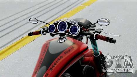 Turbike 3.0 für GTA San Andreas Rückansicht
