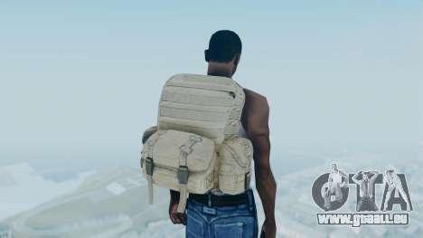 Arma 2 Backpack pour GTA San Andreas troisième écran