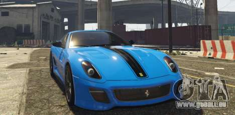 Ferrari 599 GTO[Replace] pour GTA 5