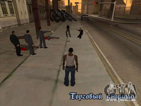 Russen in der Shopping-district v2 für GTA San Andreas fünften Screenshot