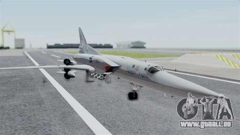 TU-22M3 Gris pour GTA San Andreas