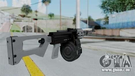 GTA 5 MG - Misterix 4 Weapons pour GTA San Andreas deuxième écran
