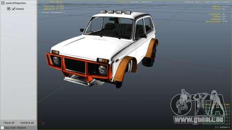 SUV VAZ-2121 pour GTA 5