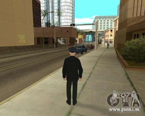 La Peau Est Sergei Glukharev pour GTA San Andreas deuxième écran
