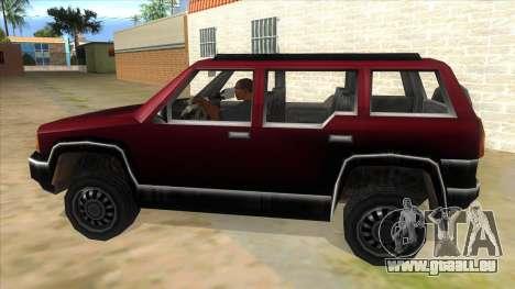 GTA III Landstalker für GTA San Andreas linke Ansicht