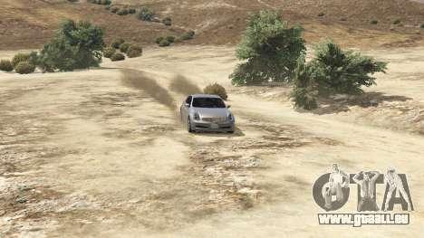 GTA 5 Infiniti G35 vue arrière