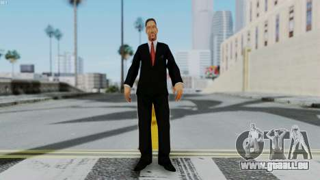 Bully Insanity Edition - Principal Will Smith für GTA San Andreas zweiten Screenshot