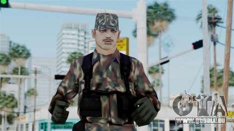 MH x Hungarian Army Skin pour GTA San Andreas