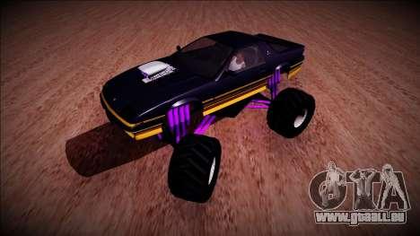 GTA 5 Imponte Ruiner Monster Truck für GTA San Andreas linke Ansicht
