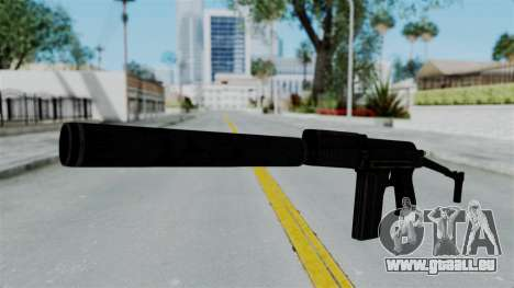 9A-91 Suppressor pour GTA San Andreas