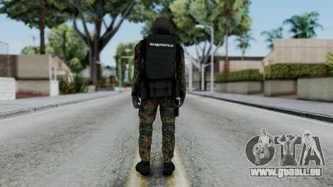 Serbian Zandarmerija pour GTA San Andreas troisième écran