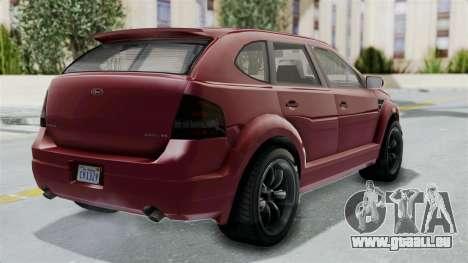 GTA 5 Vapid Radius IVF pour GTA San Andreas laissé vue