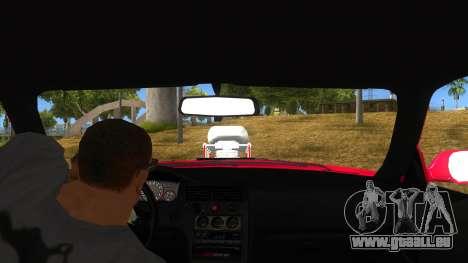 Nissan Skyline R33 Monster Truck pour GTA San Andreas vue intérieure