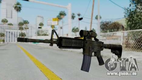 Arma2 M4A1 CCO Camo pour GTA San Andreas